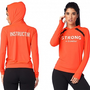 кофта женская Strong By Zumba Instructor Pullover